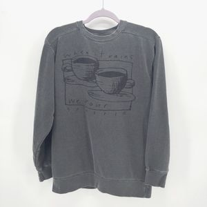 Comfort Colors Coffee Graphic Sweatshirt